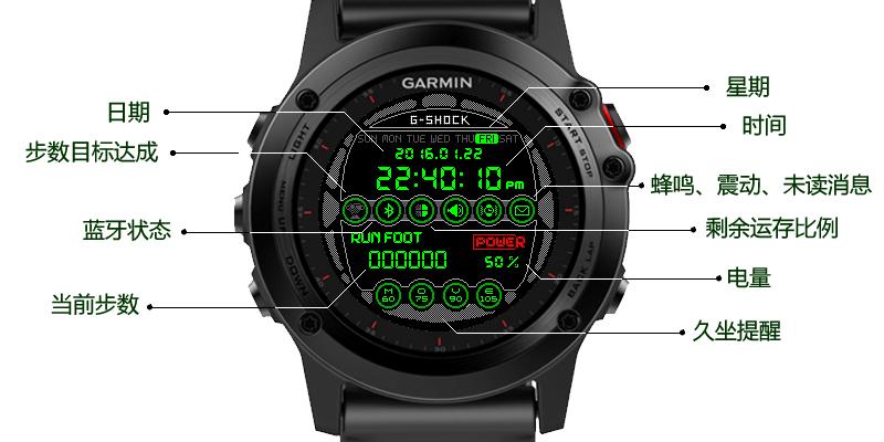 卡西欧数显风格   WFF31005