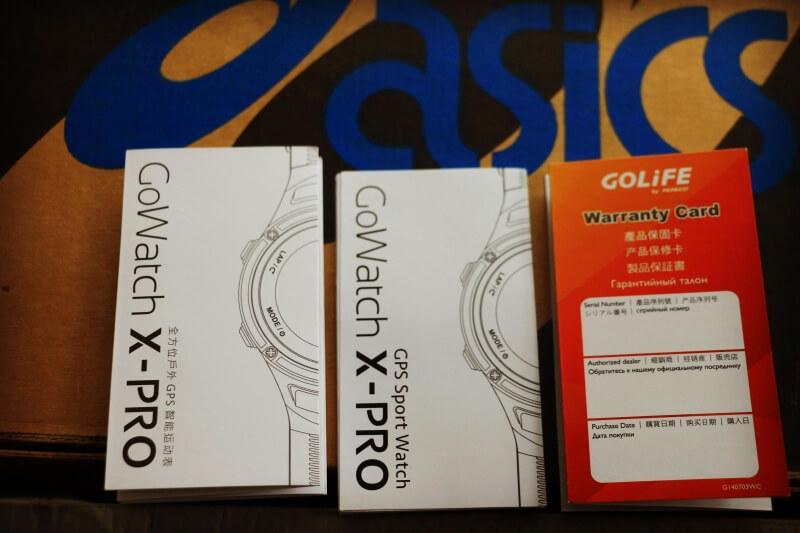 GOLiFE X PRO —— GPS智能运动表评测