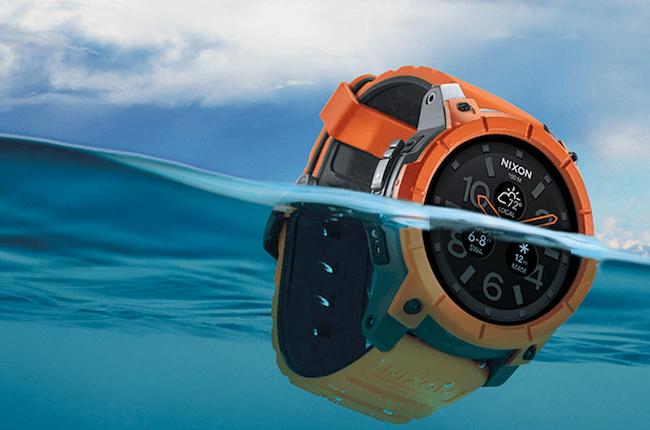 最熟水性的 Android Wear 智能表 Nixon Mission 登场,可潜水 100 米