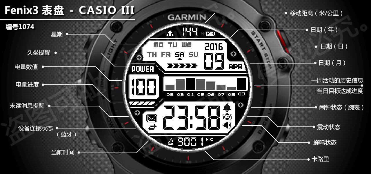 CASIO III | WFF31074